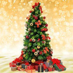 Décoration de Noël 12 Pack 30 mm paillettes//Plain Baubles-Choisir Couleur