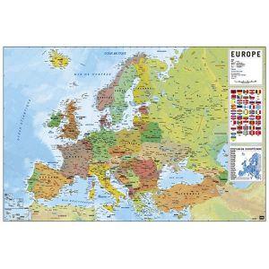 AFFICHE - POSTER Affiche Carte Europe