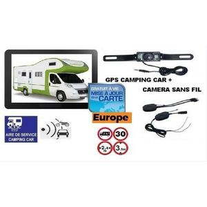 GPS AUTO GPS ROCKSTARS CAMPING CAR bluetooth + CAMERA DE RE