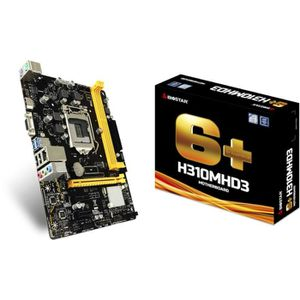 CARTE MÈRE Biostar Carte mère H310MHD3 carte mère LGA 1151 (E