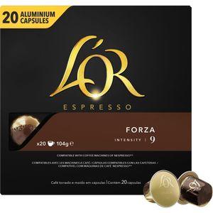 CAFÉ 20 capsules café forza 104 g L'Or Espresso