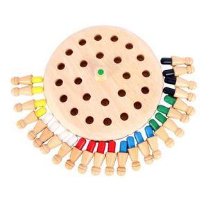 PUZZLE Mini Enfants Jeu d'échecs de bâton de mémoire en b