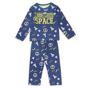 PYJAMA Pyjama Astronaute Fantaisie Bleu Enfant Garçon
