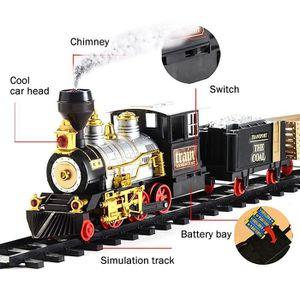 CIRCUIT MOGOI Circuit Train électrique Piste-Rétro Train à