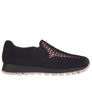 Slip on femme sneakers bee nest Prada