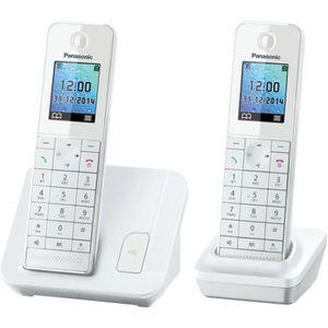Téléphone fixe PANASONIC Téléphone résidentiel dect - TGH212 - Du