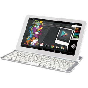 TABLETTE TACTILE Tablette Infinite+ 10.1 pouce HD + Clavier Blanc