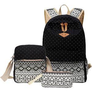 SAC À DOS Lot de 3 bagages pour fille : sac à dos, pochette