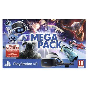 CASQUE RÉALITÉ VIRTUELLE Sony PS VR Mega Pack, Casque de visualisation dédi