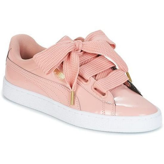 Basket puma femme Rose Rose - Cdiscount Chaussures