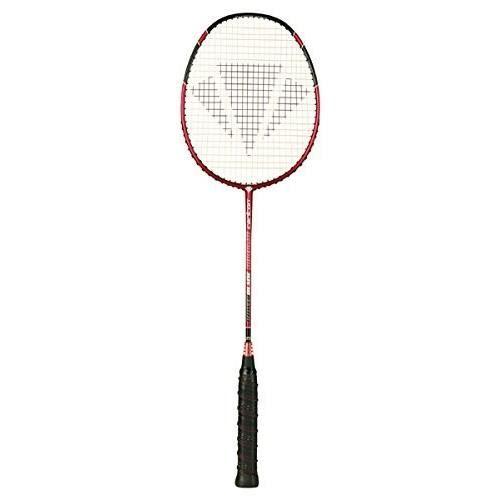 6 navettes RRP £ 80 housse Carlton Pro Power badminton raquette