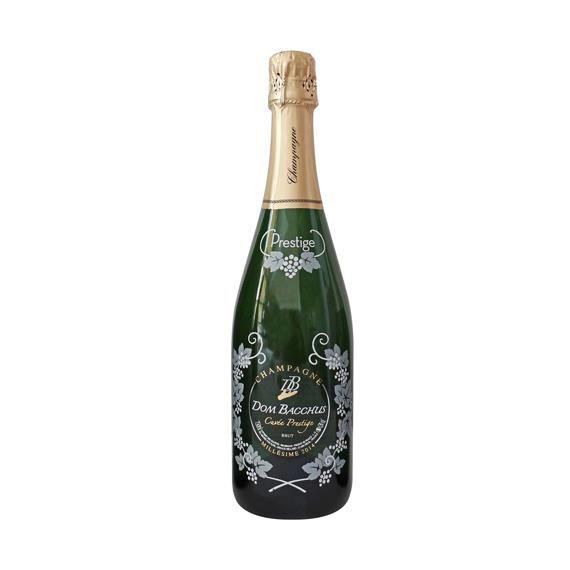 champagne dom bacchus cuvée prestige-caisse 6 bouteilles
