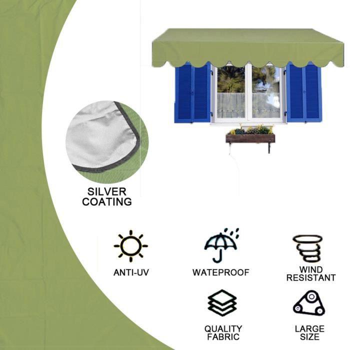 Tissu d'ombrage extérieur de jardin de tissu imperméable résistant à la poussière résistant à l'usure d'ombre YXY200526001GN