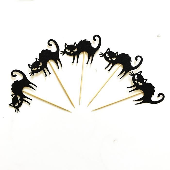 Décoration d'Halloween Cake Topper Halloween Spider Cake Insert Party Supplies JDD90819603G_baet
