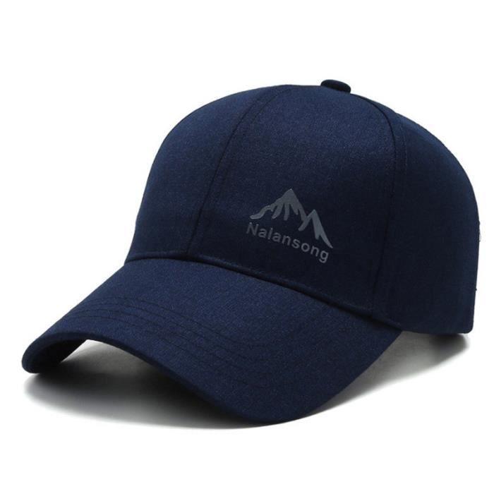 CASQUETTE Homme - Chapeau d'extérieur à la mode de style coréen - bleu LJ™