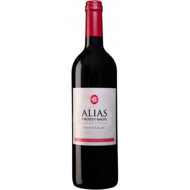 Alias de Croizet Bages 2014 - Pauillac AOC - vin rouge de Bordeaux - 1 bouteille