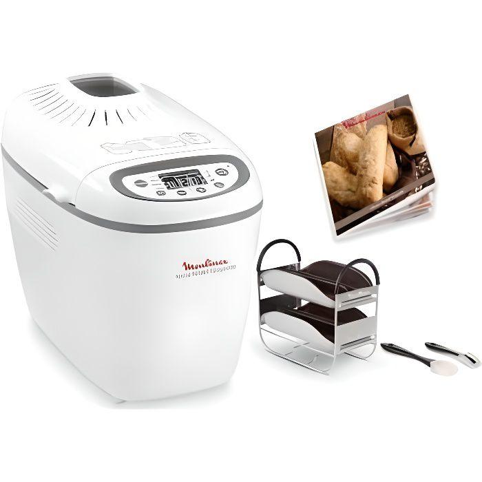 MOULINEX Machine à pain HOME BREAD BAGUETTES OW610110 • Machine à pain • Cuisson conviviale