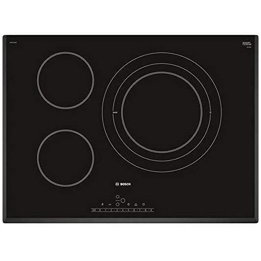 TABLE DE CUISSON GAZ Bosch S&eacuterie 6 PKD751FP1E Plaque vitroc&eacuteramique 70 cm 17 niveaux de puissance 3 zones de cuiss121