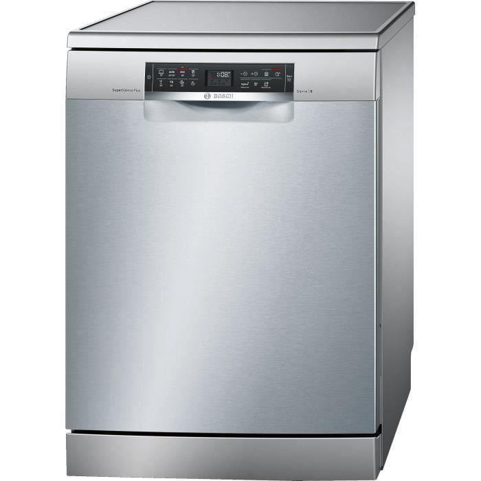 BOSCH SMS68TI00E lave-vaisselle pose-libre - 14 couverts - 38 dB - Classe A+ - largeur 60 cm - Inox