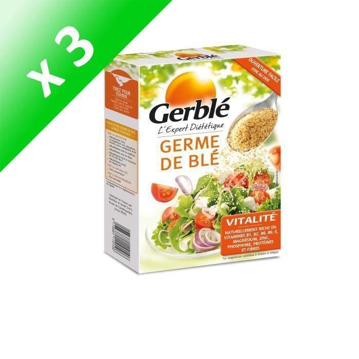 [LOT DE 3] GERBLE Germe de blé sélectionné - 250 g