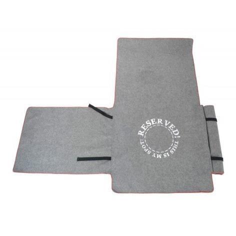 D&D Homecollection Plaid pour canapé - 240x155cm - Gris