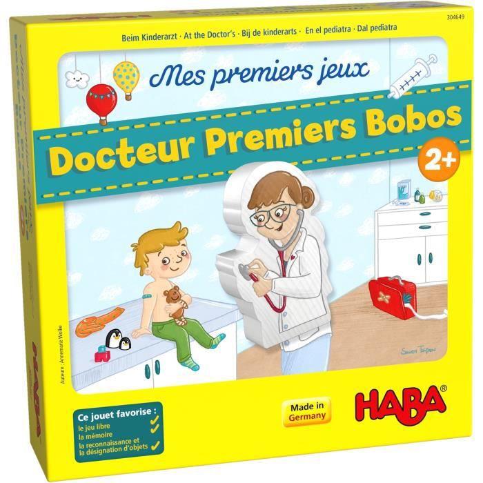 HABA - Mes premiers jeux – Docteur Premiers Bobos - Version Française