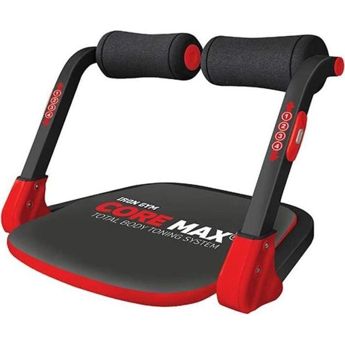IRON GYM Core Max – Appareil de Musculation Compact Mixte Adulte pour Abdominaux, Biceps, Triceps, Dos, Buste et Jambe