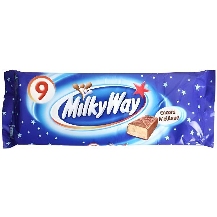 Milky Way 9 Pack [Lot de 9 barres]