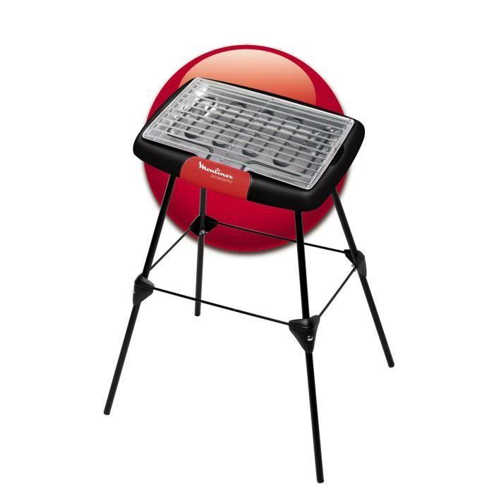 MOULINEX BG135811 Barbecue électrique Accessimo sur pieds
