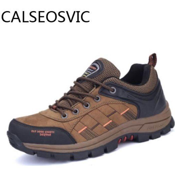 Aventurer Chaussures de Randonnée Homme Imperméable Maintien Confort Respirant