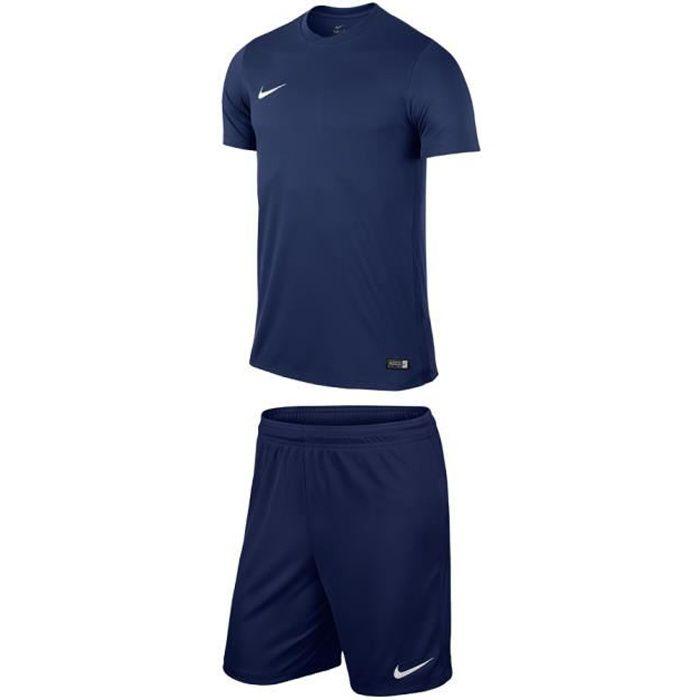 Ensemble T-shirt et short park Bleu marine taille S