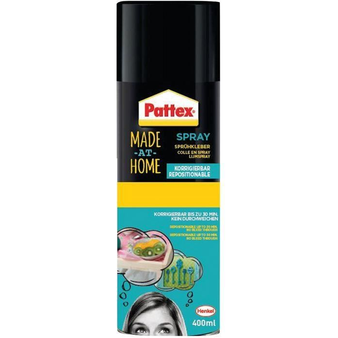 Pattex made at home spray repositionnable 400ml