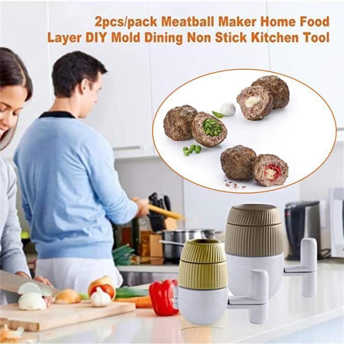 Pince d'appareil spéciale pour machine à boulettes de viande en acier inoxydable