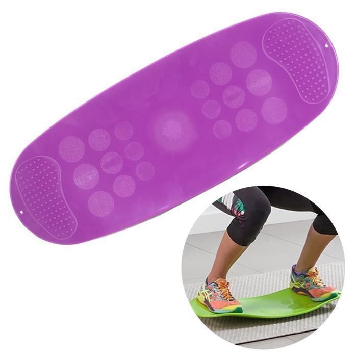 SURENHAP - Planche d'équilibre Torsion Fitness pour muscles et jambes abdominaux - 60 * 25 * 0.8cm - Rithok -5a9s8f