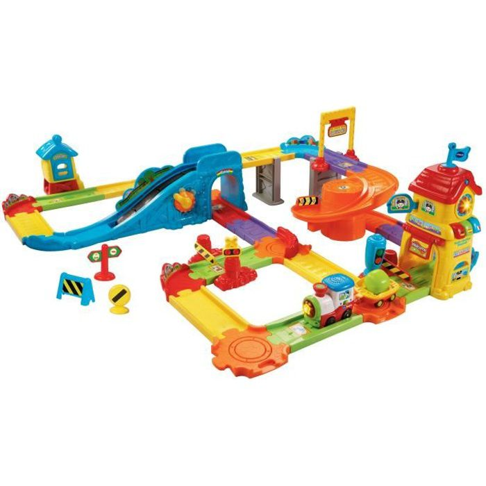 Vtech Aller! Aller! Smart Station Wheels train Playset Z4ZQN