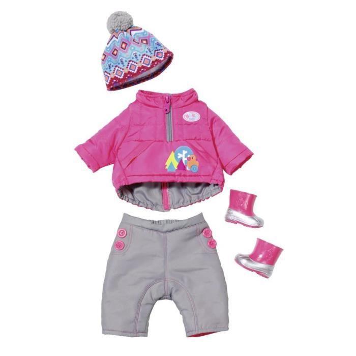 Zapf Creation 823811 Les vêtements d'hiver Deluxe pour Baby Born.