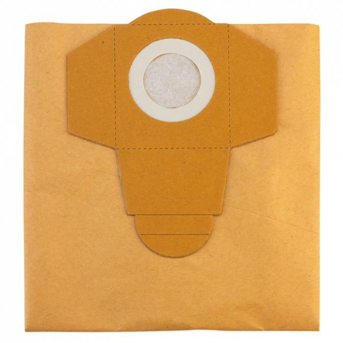 Remplacement sacs pour aspirateurs Einhell TH-VC 1815-Pack de 5