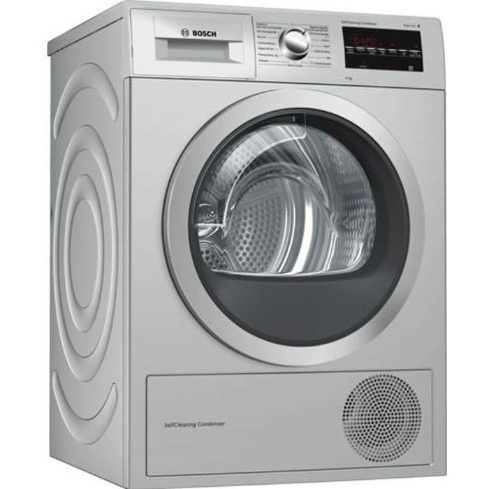 SÈCHE-LINGE Bosch Serie 6 WTG8729XEE, Autonome, Charge avant,