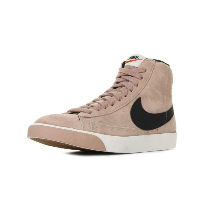 Nike Blazer Mid Suede RoseNoir Vintage Rose Baskets Wmns Achat rBWdoeQxCE