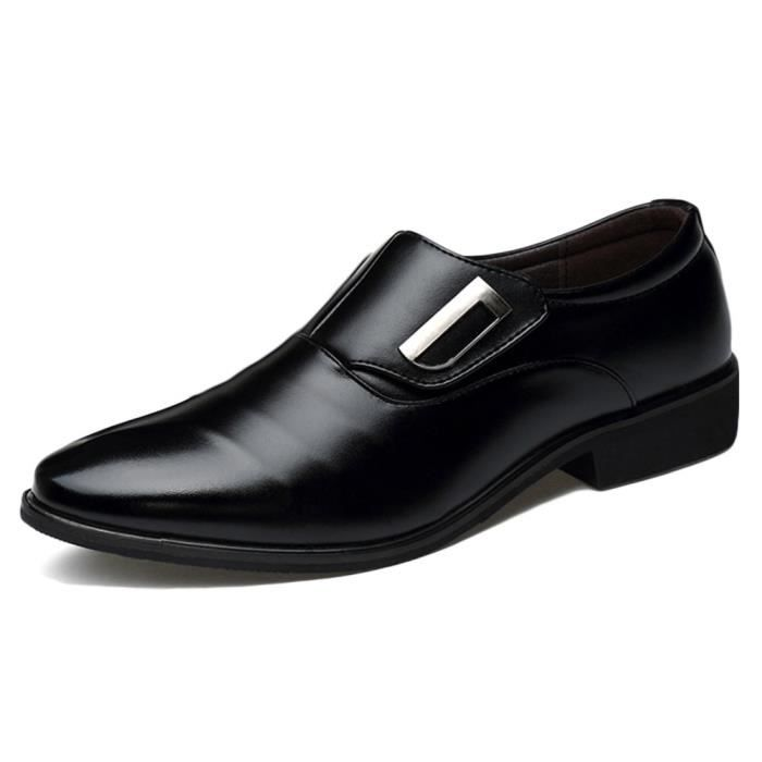 Robe Tuxedo Pointu Chaussures Slip On Oxfords FISMM Taille-38 1-2
