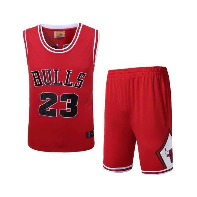 Shorts de Sport Bulls Jordan 23 Stephen Curry Basket Maillots Jersey Top d/'été
