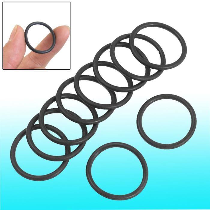 10/pi/èces en caoutchouc noir 60/mm x 2.5/mm Joint dhuile O Rings Joints Rondelles