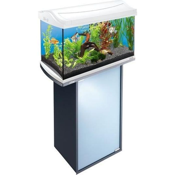 tetra meuble anthracite tetra aquaart 60 l achat vente sous meuble meuble pour aquarium. Black Bedroom Furniture Sets. Home Design Ideas