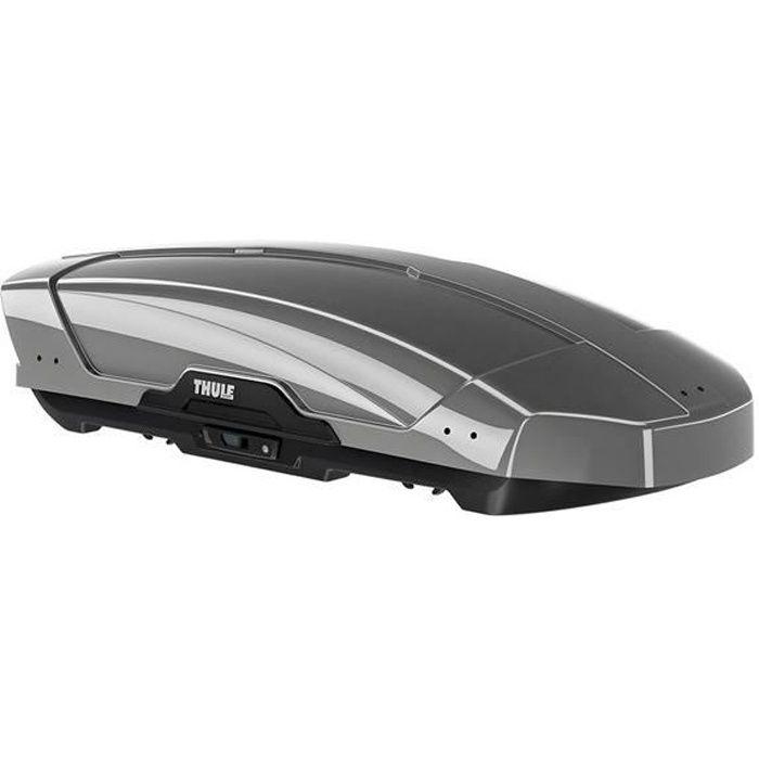 Thule Motion XT M spacieux et optimis/é pour une grande facilit/é d/'utilisation. Coffre de toit /él/égant