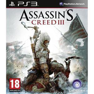 JEU PS3 ASSASSINS CREED 3 / Jeu console PS3