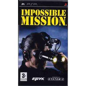 JEU PSP IMPOSSIBLE MISSION / JEU CONSOLE PSP