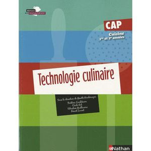 technologie culinaire cap cuisine 1e et 2e ann es achat vente livre ginette kirchmeyer. Black Bedroom Furniture Sets. Home Design Ideas