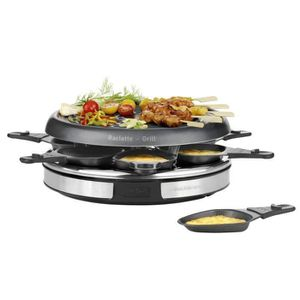 TEFAL - Raclette 6 c inox et design - RE127812