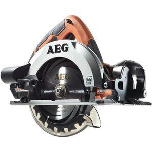 AEG Scie circulaire BKS18-0 - 18 V - Ø 165 mm - Livrée en carton sans chargeur ni batterie