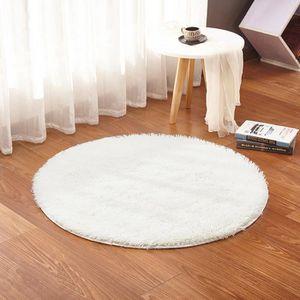 Grand tapis blanc